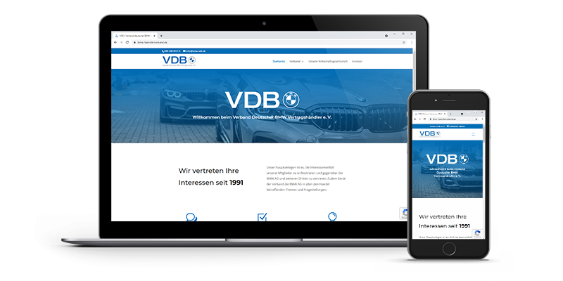 Website BMW VDB